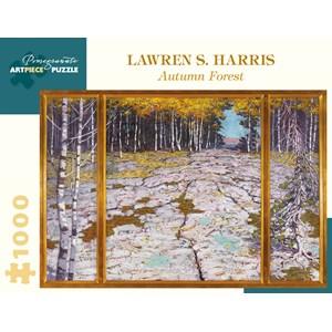 "Pomegranate (aa1020) - Lawren S. Harris: ""Autumn Forest"" - 1000 piezas"