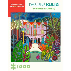 "Pomegranate (aa1086) - Darlene Kulig: ""St Nicholas Abbey"" - 1000 piezas"