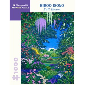 "Pomegranate (aa1089) - Hiroo Isono: ""Full Bloom"" - 1000 piezas"