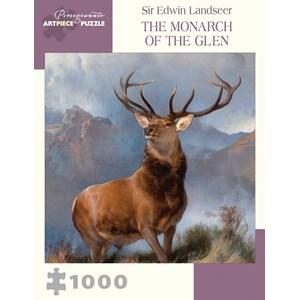 "Pomegranate (aa1007) - Sir Edwin Landseer: ""The Monarch of the Glen"" - 1000 piezas"