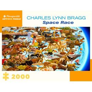 "Pomegranate (aa1079) - Charles Lynn Bragg: ""Space Race"" - 2000 piezas"