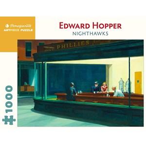 "Pomegranate (aa1082) - Edward Hopper: ""Nighthawks"" - 1000 piezas"
