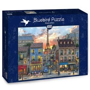 "Bluebird Puzzle (70253) - Dominic Davison: ""Streets of Paris"" - 4000 piezas"