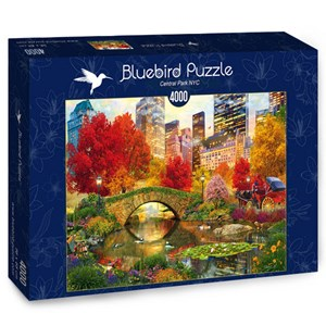 "Bluebird Puzzle (70256) - David McLean: ""Central Park NYC"" - 4000 piezas"