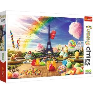 """Trefl (10597) - """"Sweet Paris"""" - 1000 piezas"""