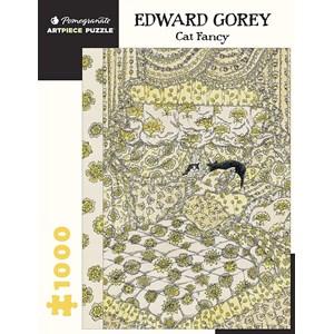"Pomegranate (aa1068) - Edward Gorey: ""Cat Fancy"" - 1000 piezas"