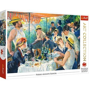 "Trefl (10499) - Pierre-Auguste Renoir: ""Luncheon of the Boating Party"" - 1000 piezas"