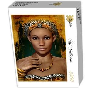"Grafika (01302) - ""African Woman"" - 3900 piezas"