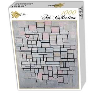 """Grafika (01178) - Piet Mondrian: """"Composition No.IV, 1914"""" - 1000 piezas"""