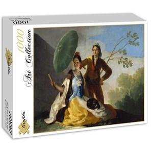 """Grafika (01181) - Francisco Goya: """"El Quitasol, 1777"""" - 1000 piezas"""