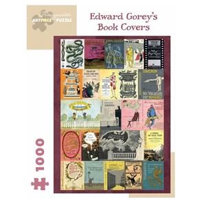 "Pomegranate (aa1043) - Edward Gorey: ""Edward Gorey's Book Covers"" - 1000 piezas"