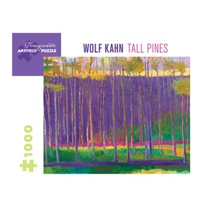"Pomegranate (aa1037) - Wolf Kahn: ""Tall Pines, 1999"" - 1000 piezas"