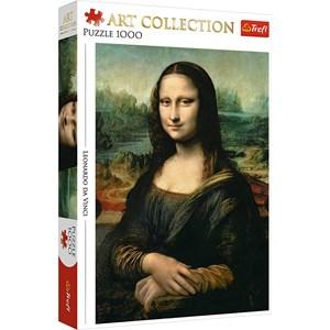 """Trefl (10542) - Leonardo Da Vinci: """"Mona Lisa"""" - 1000 piezas"""