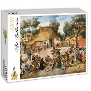 "Grafika (00696) - Pieter Brueghel the Elder: ""The Peasant Wedding, 1568"" - 1000 piezas"