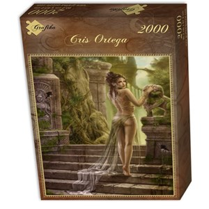"Grafika (01058) - Cris Ortega: ""The Way of the Last Empire"" - 2000 piezas"