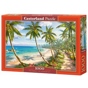 """Castorland (C-104666) - """"Pathway to Paradise"""" - 1000 piezas"""