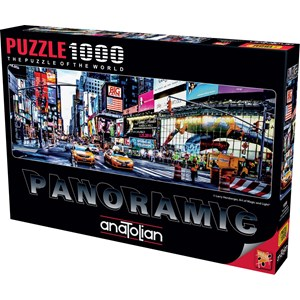 "Anatolian (1059) - Larry Hersberger: ""Times Square"" - 1000 piezas"