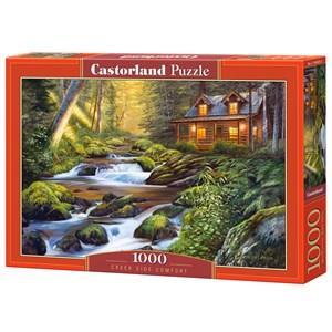 "Castorland (C-104635) - ""Creek Side Comfort"" - 1000 piezas"