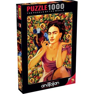 "Anatolian (1071) - Serhat Filiz: ""Frida Kahlo"" - 1000 piezas"