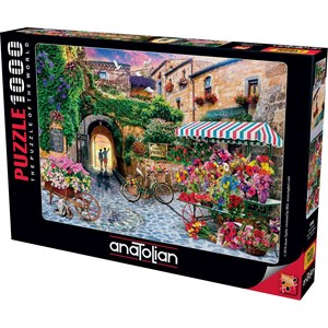 "Anatolian (1066) - Jason Taylor: ""The Flower Market"" - 1000 piezas"