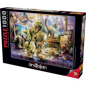 "Anatolian (1067) - Jan Patrik Krasny: ""Dino Toys Come Alive"" - 1000 piezas"