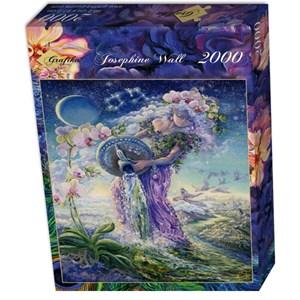 """Grafika (00810) - Josephine Wall: """"Aquarius"""" - 2000 piezas"""