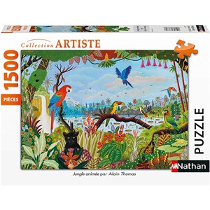 "Nathan (87799) - ""Animated Jungle"" - 1500 piezas"