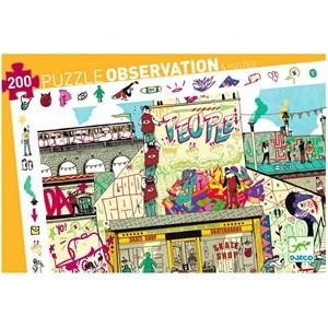 """Djeco (07453) - """"Streetart"""" - 200 piezas"""