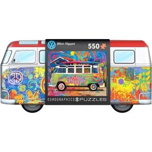 "Eurographics (8551-5561) - ""VW Wave Hopper"" - 550 piezas"