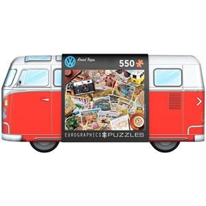 "Eurographics (8551-5576) - ""VW Road Trips"" - 550 piezas"