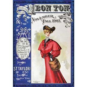 "Piatnik (5525) - ""Bon Ton Magazine Cover 1903"" - 1000 piezas"