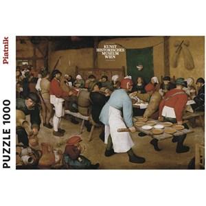 "Piatnik (5483) - Pieter Brueghel the Elder: ""Peasant Wedding"" - 1000 piezas"