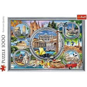 "Trefl (10585) - ""Italian Holidays"" - 1000 piezas"