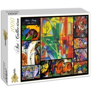 "Grafika (00855) - Franz Marc: ""Collage"" - 1000 piezas"