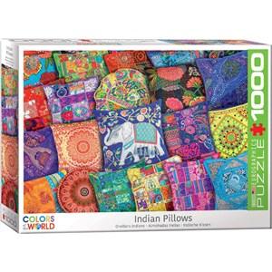 """Eurographics (6000-5470) - """"Indian Pillows"""" - 1000 piezas"""