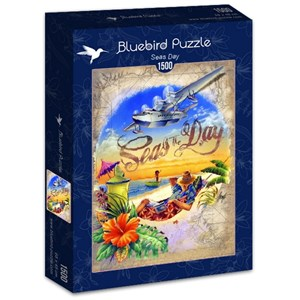"Bluebird Puzzle (70105) - James Mazzotta: ""Seas Day"" - 1500 piezas"