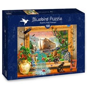 "Bluebird Puzzle (70140) - Adrian Chesterman: ""Noah's Ark Framed"" - 1500 piezas"