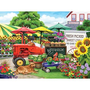 "SunsOut (63016) - Nancy Wernersbach: ""Farm Stand Bounty"" - 300 piezas"