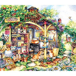 "SunsOut (24616) - Kim Jacobs: ""The Apiary"" - 550 piezas"