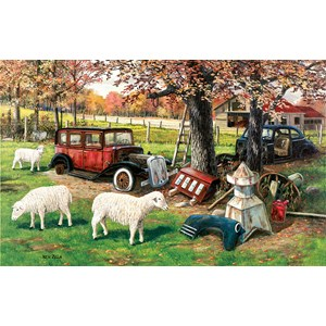 "SunsOut (39482) - Ken Zylla: ""Out To Pasture"" - 550 piezas"