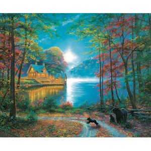 "SunsOut (52805) - Mark Keathley: ""Lakeside Dreams"" - 1000 piezas"
