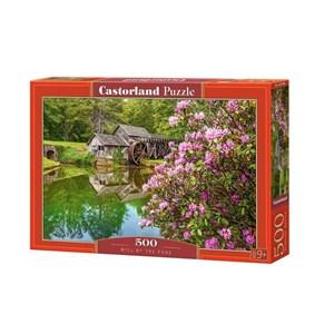 "Castorland (B-53490) - ""Mill by the Pond"" - 500 piezas"