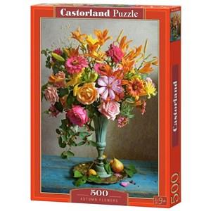 """Castorland (B-53537) - """"Autumn Flowers"""" - 500 piezas"""