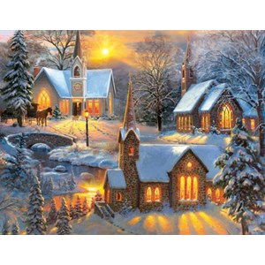 "SunsOut (52947) - Mark Keathley: ""Shining Lights"" - 1000 piezas"