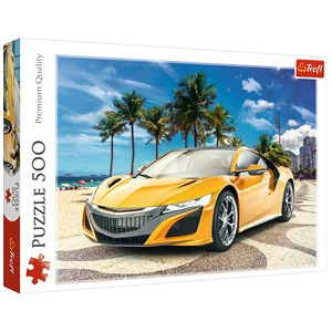 "Trefl (37381) - ""Summer Adventure Car"" - 500 piezas"