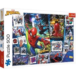 """Trefl (37391) - """"Spider-Man"""" - 500 piezas"""