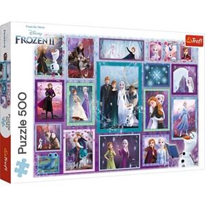 "Trefl (37392) - ""Frozen II"" - 500 piezas"