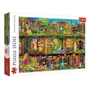 "Trefl (26165) - ""Fairy Bookcase"" - 1500 piezas"