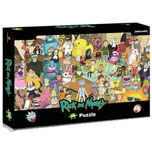 "Winning Moves Games (39703) - ""Rick and Morty"" - 1000 piezas"