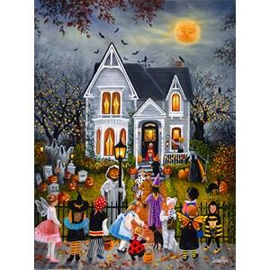 """SunsOut (45430) - Susan Rios: """"Scary Night"""" - 1000 piezas"""